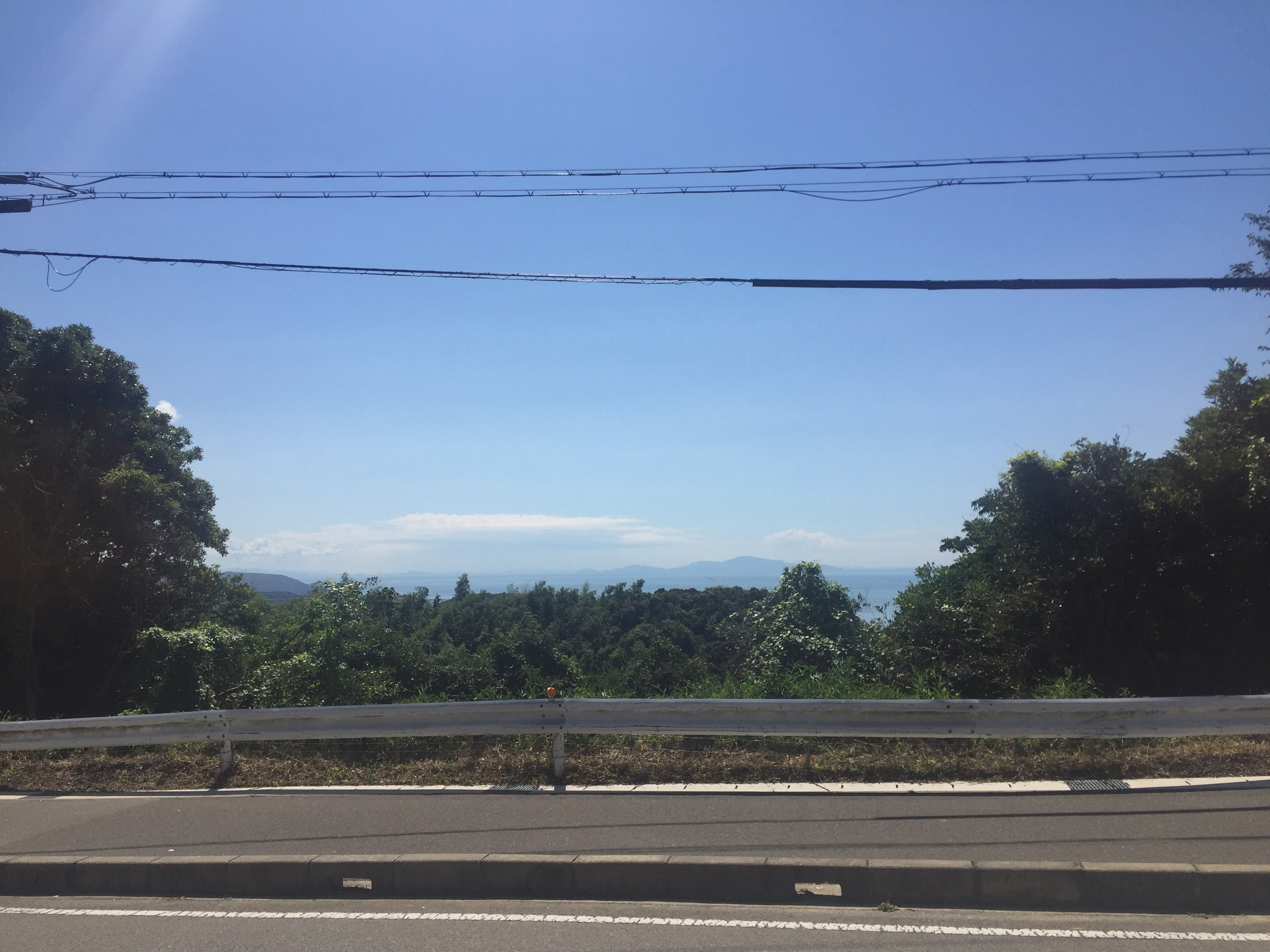 View from the road on Awaji